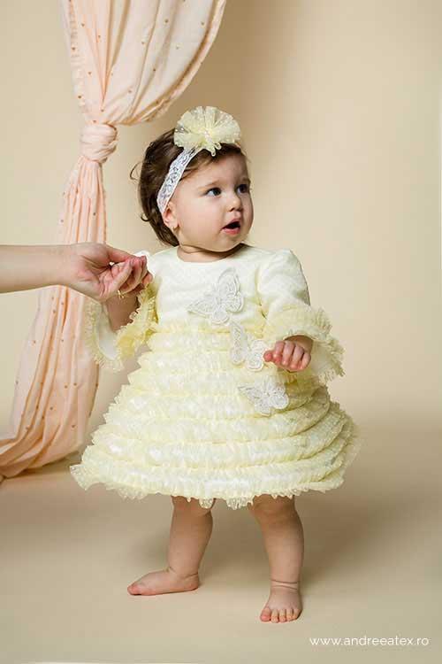Rochiță Fantezie - galben