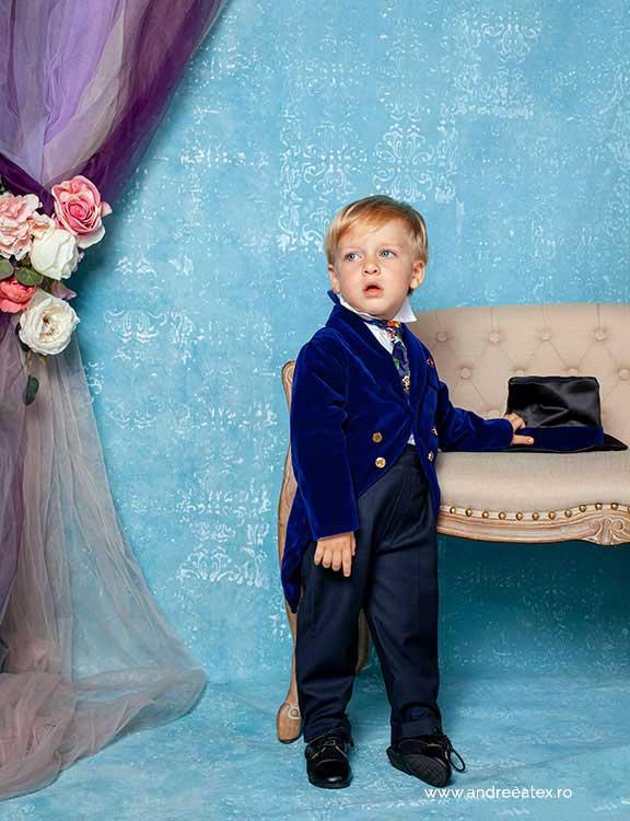 Micul Dandy (1-4 ani) - bleumarin